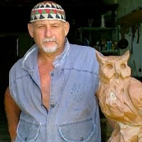 Man and owl